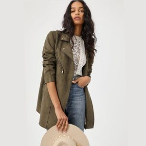 Anthropologie Faux Suede Jacket*